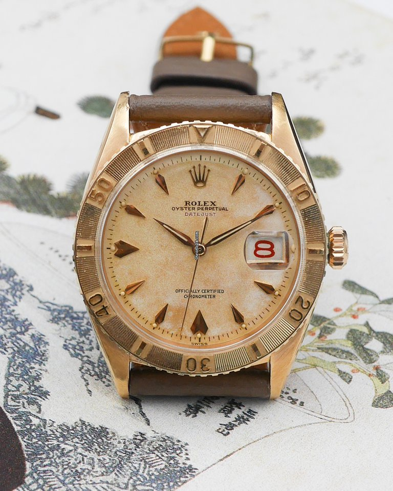 Rolex Datejust Turn-O-Graph 6309 1954 pre-owned