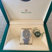 Rolex Oyster Perpetual 39 Acero 39mm Gris Sin cifras España, inca