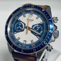 帝陀 Heritage Chrono Blue 鋼 42mm 藍色 阿拉伯數字