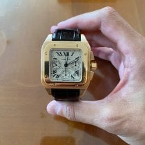 Cartier Ροζέ χρυσό Αυτόματη W20131Y1 μεταχειρισμένο Ελλάδα, Mosxato