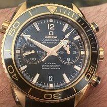 Omega Seamaster Planet Ocean Chronograph Red gold 45.5mm Black United Kingdom, Liverpool, UK