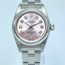 Rolex Oyster Perpetual Steel 24mm Pink Arabic numerals United Kingdom, Liverpool