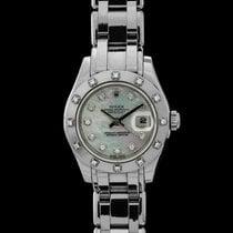Rolex Lady-Datejust Pearlmaster Oro bianco 29mm Madreperla Romani Italia, arezzo