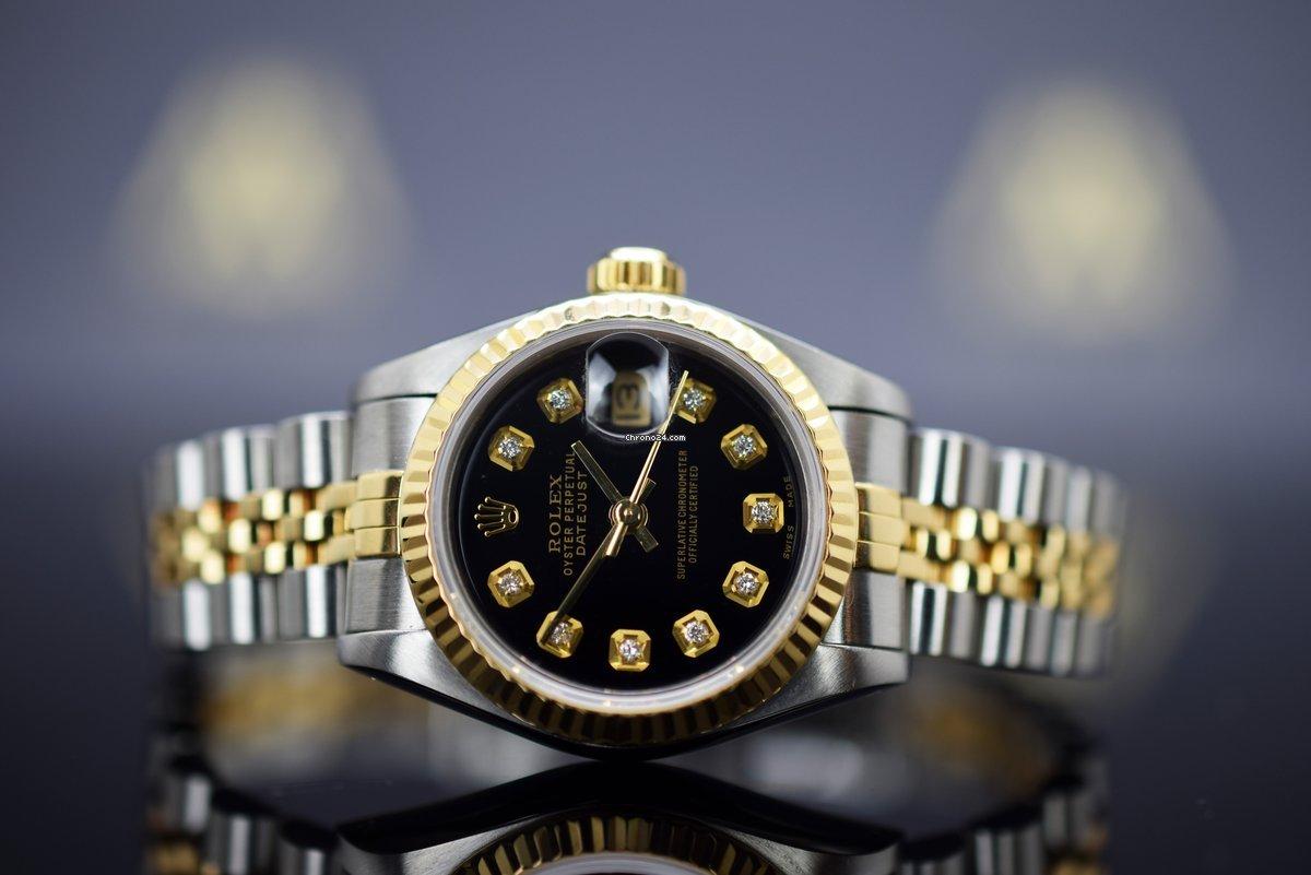 Rolex Lady-Datejust 69173 1989 gebraucht