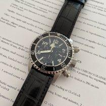 Chronographe Suisse Cie 全新 自动上弦 荧光数字 荧光指针 夜光刻度 45mm 钢 蓝宝石玻璃