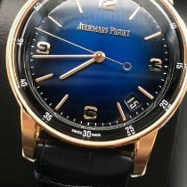 Audemars Piguet Code 11.59 Pозовое золото Синий