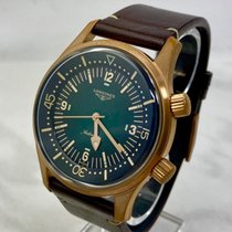 Longines Bronze Automatic Green Arabic numerals 42mm pre-owned Legend Diver