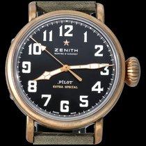 Zenith Pilot Type 20 Extra Special Bronze 40mm Sort Arabertal