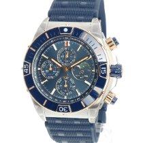Breitling Chronomat 44 Goud/Staal 44mm Blauw