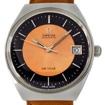 Omega De Ville Steel 35mm Orange No numerals United States of America, Utah, Draper