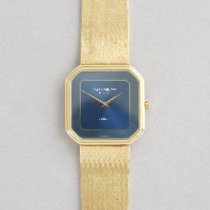 Patek Philippe Vintage Oro amarillo 29mm Azul Sin cifras