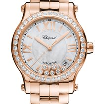 Chopard 274808-5007 Rose gold 2021 Happy Sport 36mm new United States of America, Florida, Sunny Isles Beach
