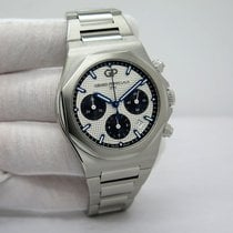 Girard Perregaux Laureato Steel 42mm Silver No numerals United States of America, Florida, Orlando