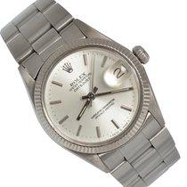 Rolex Złoto białe Automatyczny Srebrny Bez cyfr 31mm używany Datejust 31