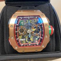 Richard Mille Ruzicasto zlato Automatika RM65-01 nov