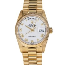 Rolex Day-Date 36 Yellow gold 36mm White Roman numerals United States of America, Maryland, Baltimore, MD
