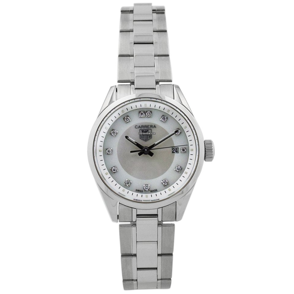TAG Heuer Carrera Lady wv1411.ba0793 pre-owned