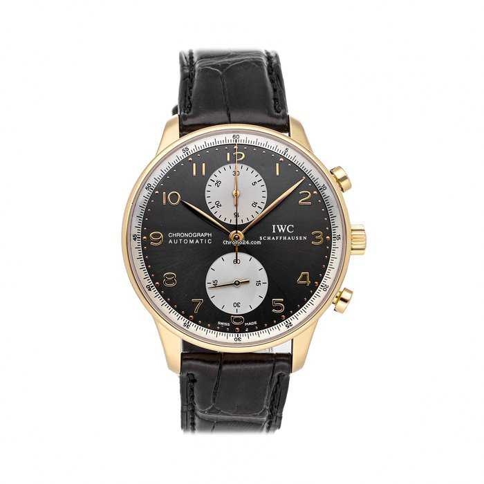IWC Portuguese Chronograph IW3714-33 pre-owned