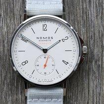 NOMOS Ahoi Neomatik Steel 36.3mm White Arabic numerals