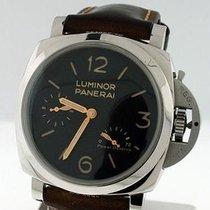 Panerai Luminor 1950 3 Days Power Reserve Acero 47mm Negro