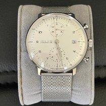 Junghans max bill Chronoscope Steel 40mm Silver Arabic numerals United States of America, Nevada, Las Vegas