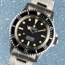 Rolex 5512 Сталь 1971 Submariner (No Date) 40mm подержанные