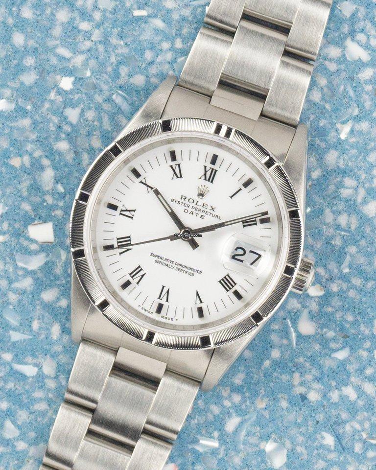 Rolex Oyster Perpetual Date 15210 1995 подержанные