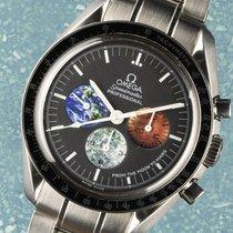 Omega Speedmaster Professional Moonwatch Acciaio 42mm Nero Senza numeri Italia, Lucca