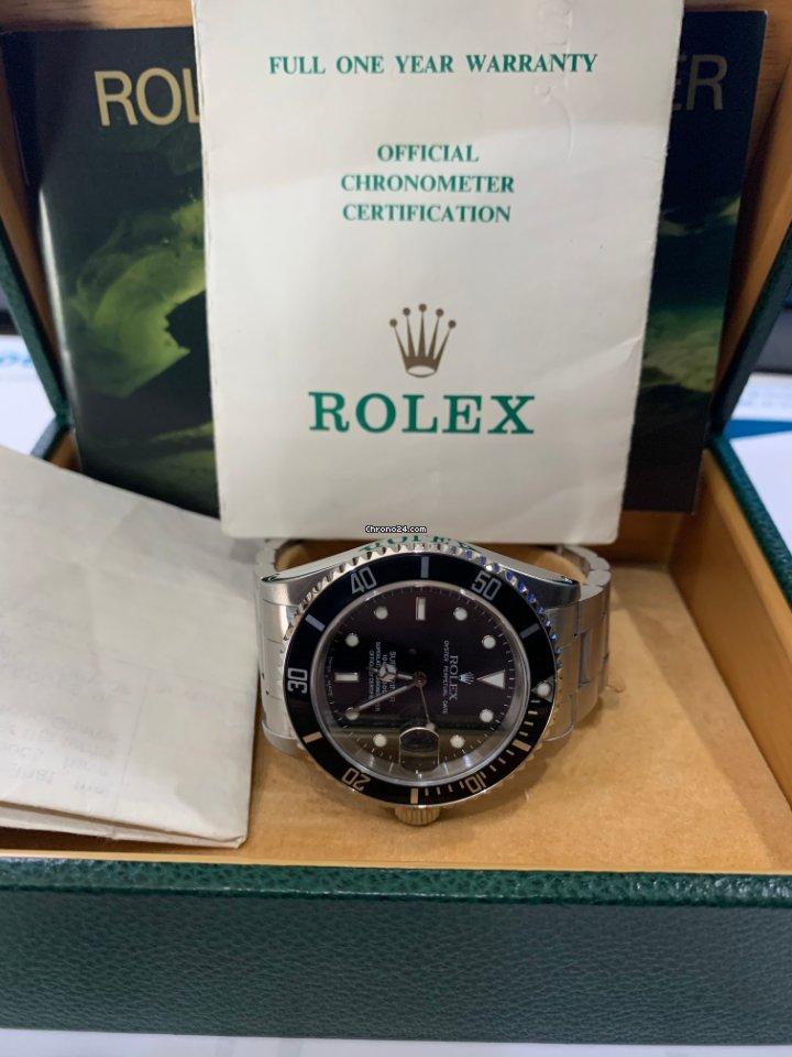 Rolex Submariner Date 16610 1992 usado