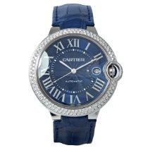Cartier Ballon Bleu 42mm occasion 42mm Bleu Cuir