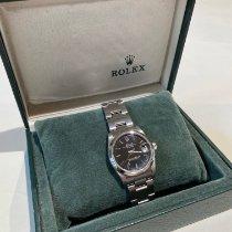 Rolex Lady-Datejust Steel 31mm Black Roman numerals