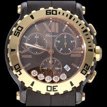 Chopard Happy Sport nieuw 2021 Quartz Chronograaf Horloge met originele doos en originele papieren 288515-9003