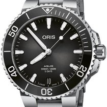 Oris Aquis Date Steel 41.5mm Green