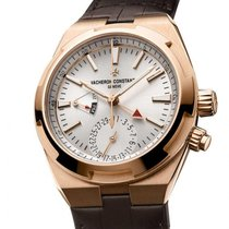 Vacheron Constantin Overseas Dual Time 7900V/000R-B336 Unworn Rose gold 41mm Automatic