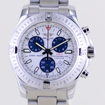 Breitling Colt Chronograph Steel 44mm White No numerals
