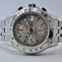 Tudor Chronautic Steel 41mm Silver No numerals
