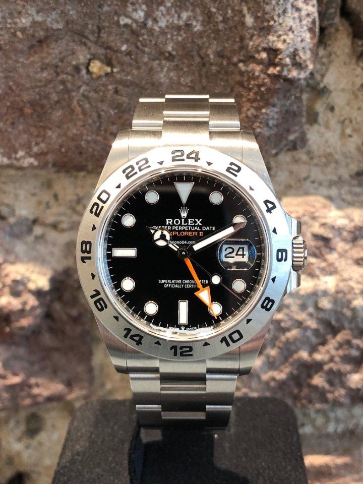 Rolex Explorer II 226570 2021 neu