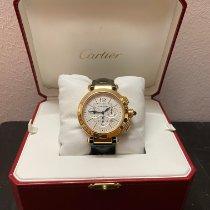 Cartier Pasha Oro giallo 42mm Argento Arabi Italia, Busto Arsizio