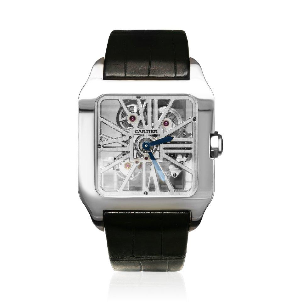 Cartier Santos Dumont W2020033 2021 новые
