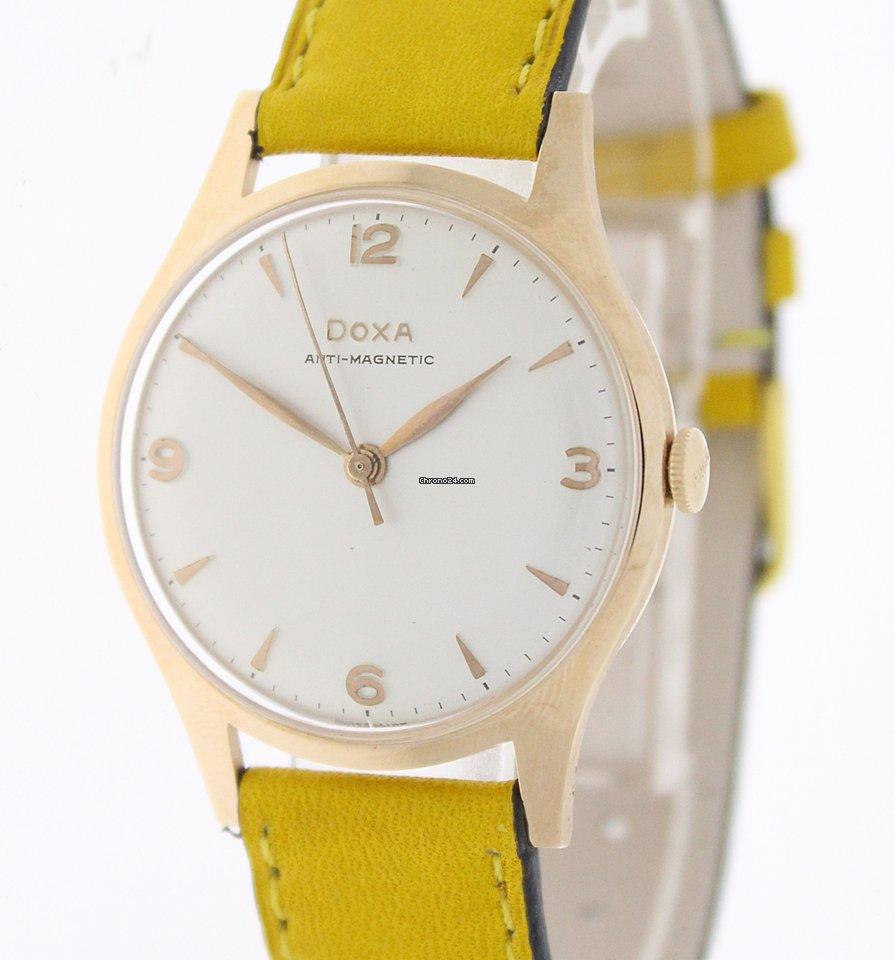 Doxa Doxa Vintage, 585/ Gold, Ref:10335 1955 pre-owned