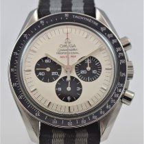 Omega Speedmaster Professional Moonwatch použité 42mm Bílá Chronograf Ocel