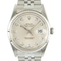 Rolex Datejust 16234 Muy bueno Acero y oro 36mm Automático