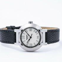 Hermès Nomade Stal 28mm Srebrny Rzymskie
