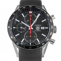 TAG Heuer Carrera Calibre 16 Steel 41mm Black No numerals United States of America, Maryland, Baltimore, MD