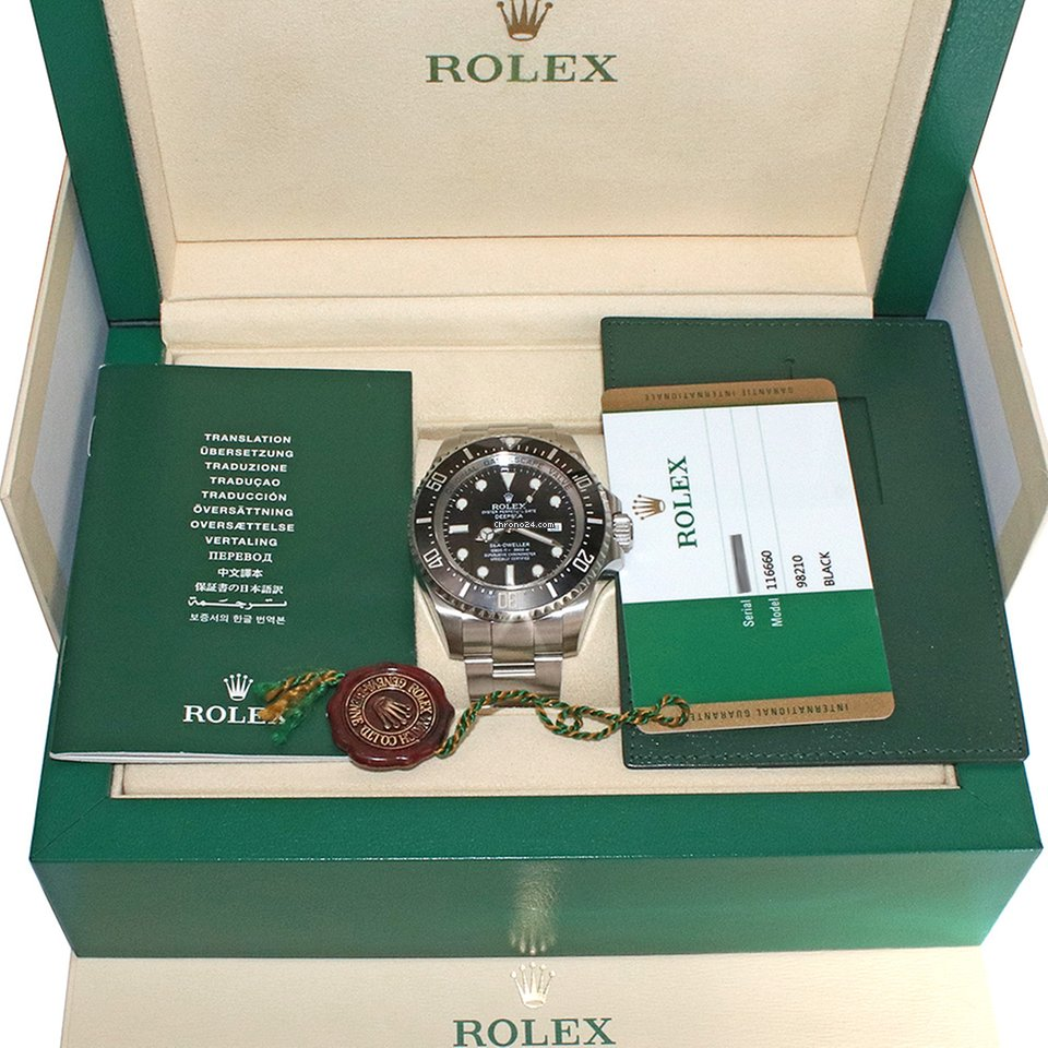 Rolex Sea-Dweller Deepsea 116660 2018 pre-owned