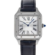 Cartier Santos Dumont Steel 43.5mm Silver Roman numerals United States of America, Maryland, Baltimore, MD