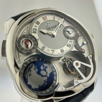 Greubel Forsey GMT White gold Silver United States of America, California, Beverly Hills