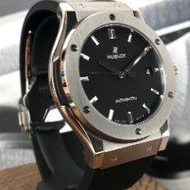Hublot Classic Fusion 45, 42, 38, 33 mm Titanium 45mm Black No numerals