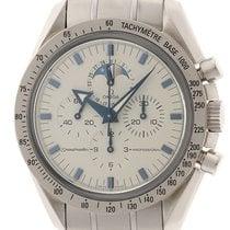 Omega Speedmaster Professional Moonwatch Moonphase Acero 42mm Blanco