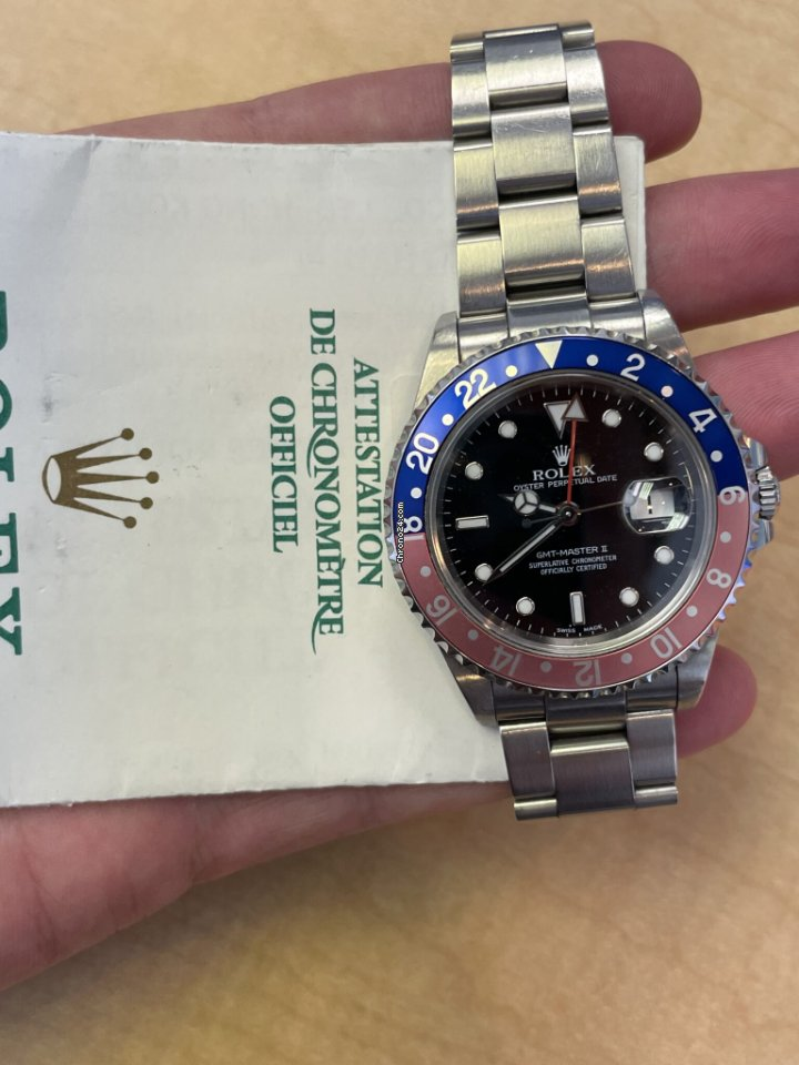 Rolex GMT-Master 16750 2001 pre-owned
